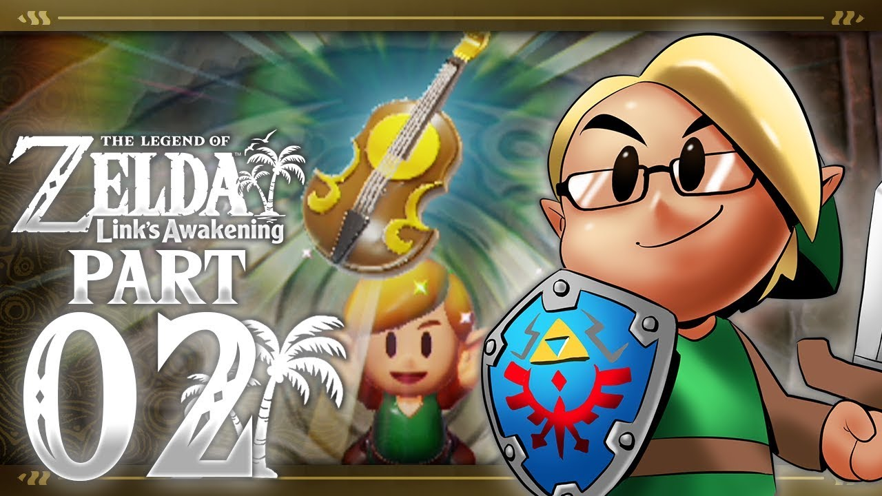 The Legend of Zelda: Link's Awakening (Nintendo Switch) Part 2 - Tail Cave thumbnail