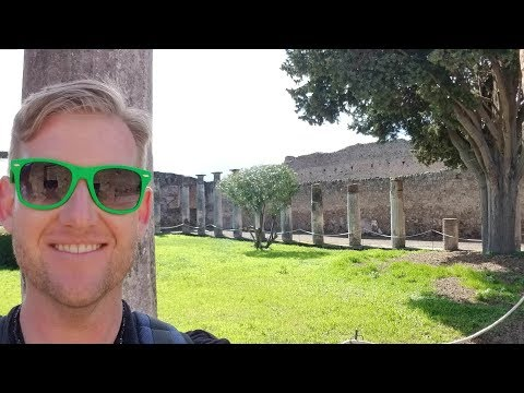#582 POMPEI ITALY Now.. - Daze With Jordan The Lion (3/11/2018)
