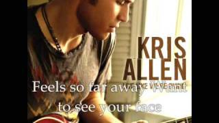 Watch Kris Allen I Need To Know video