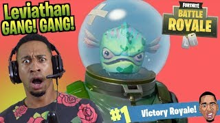 UNDEFEATED In The LEVIATHAN SKIN!! Fortnite Battle Royale