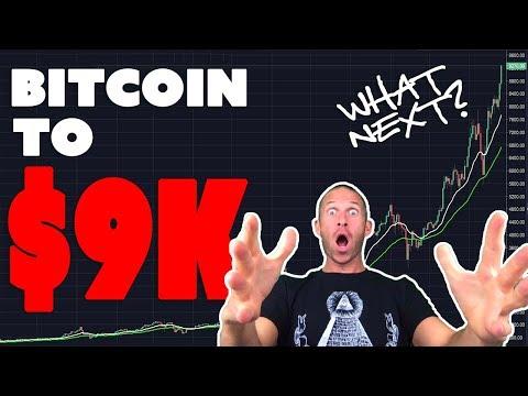 Bitcoin Hits $9000 - What Next? Bitcoin Price Prediction