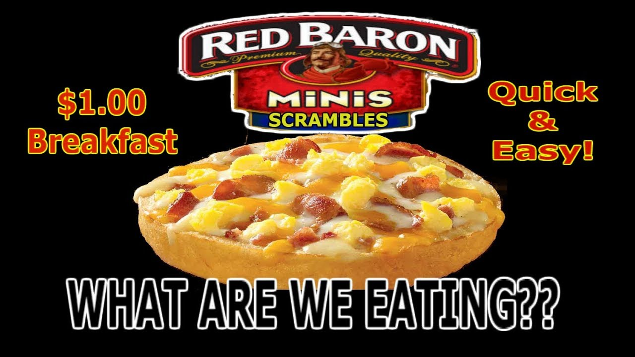 100 Breakfast Red Baron Mini Scrambles What Are We Eating