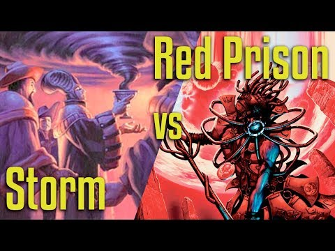 Brainstorm MTG | Legacy Magic: the Gathering | Storm VS Mono Red Prison