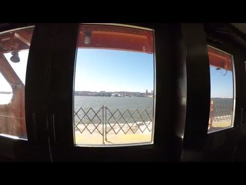 ⁴ᴷ Staten Island Ferry Full Ride from Whitehall Terminal, Manhattan to St. George, Staten Island