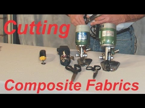 Cutting Composite Fabric  Video, how too