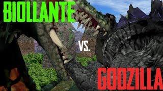 Legendary Godzilla v Biollante  - Kaiju War Chronicles: Animated