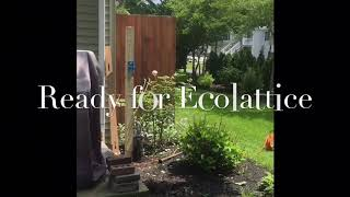 Ecolattice permanent Instalation