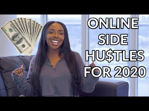 8 ONLINE SIDE HUSTLE IDEAS for 2020 That You Can WORK FROM ANYWHERE and START TODAY