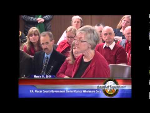 Save DeWitt Theater Group Attends 3/11/14 Placer County Board of Supervisors Public Hearing