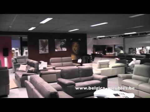 showroom belgica meubles ciney youtube. Black Bedroom Furniture Sets. Home Design Ideas