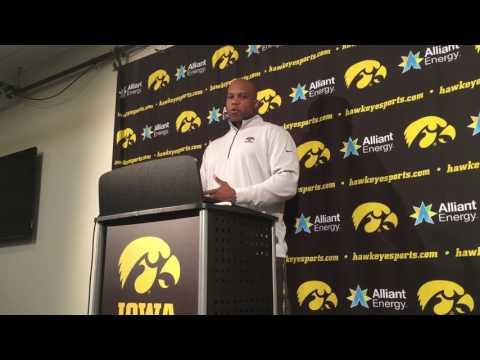 Kelton Copeland on the opportunity at Iowa