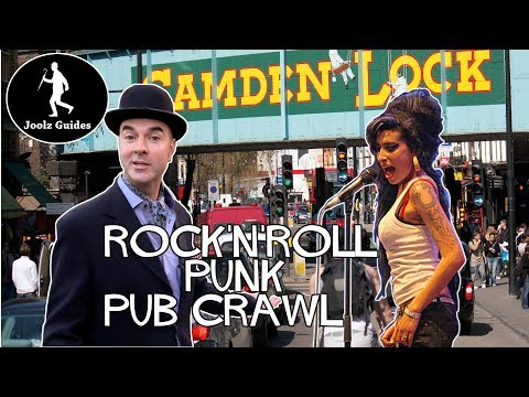 Camden Town Rock n Roll Punk Music Pub Crawl - London