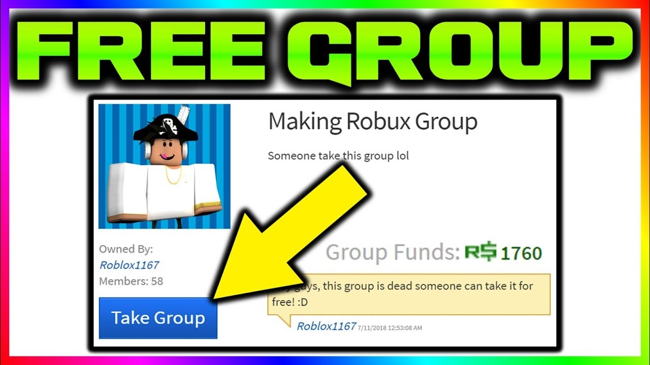 How I Got A Group For Free And Made Robux Youtube