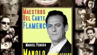 Manolo El Malagueño - La Luz Bañará Granada (Media Granaína) (Flamenco Masters)