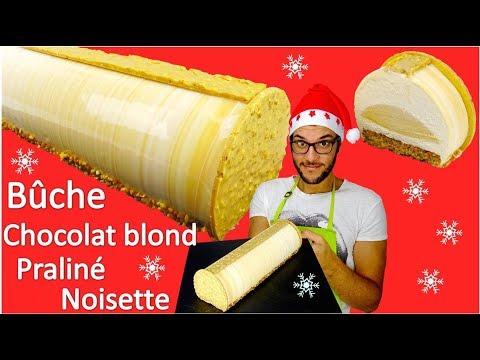 recette-buche-de-noel-praline-noisette-/-praline-hazelnut-yule-log-(en-subs)