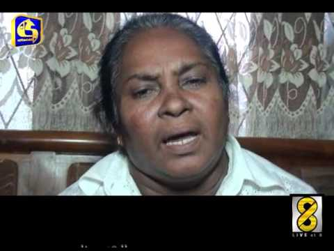 Sri Lankan prisoned in Maldives - Live at 8 News