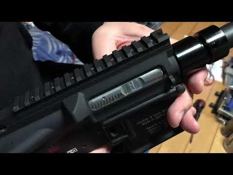 HK-416D 1st Prototype Test