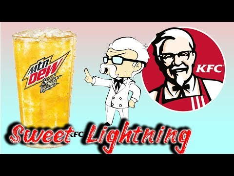 kfc-|-mountain-dew-|-sweet-lightning-and-chicken-littles-review