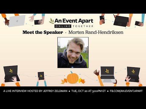 Meet the Speaker: Morten Rand-Hendriksen