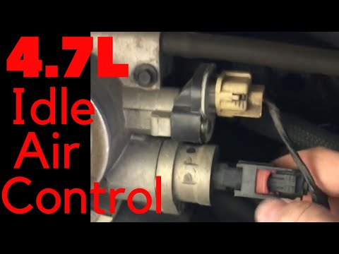2004 Dodge Durango 4.7L Idle Air Control Valve Replacement