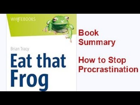 #bemotivated #eatthatfrog#briantracy Eat That Frog! By Brian Tracy| Book Summary