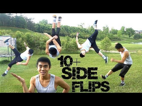 10 TYPES OF SIDEFLIPS New Series!