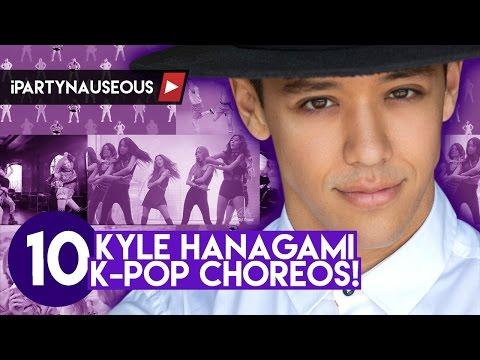 10 Awesome K-pop Choreos by Kyle Hanagami!