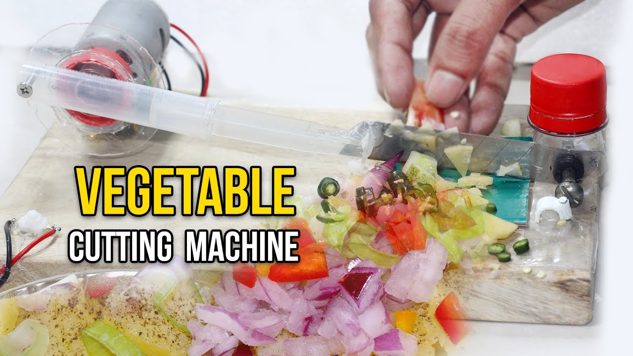 How To Make Vegetable Awesome Cutting Machine At Home 2017 Youtube