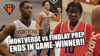 MONTVERDE vs FINDLAY Ends w/ CRAZY GAME-WINNER!! | Mike Devoe SAVES THE DAY in GAME of the YEAR