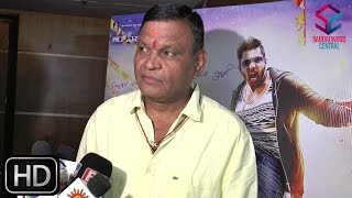 'Bharjari' Press Meet: Producer Kanakapura Srinivas Praising Dhruva Sarja