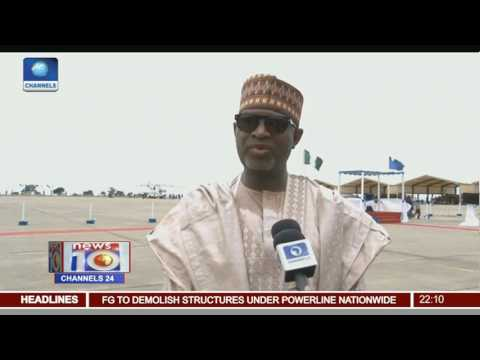 News@10: FG To Begin Demolition Of Structures Around High Tension Cables 23/04/17 Pt 1
