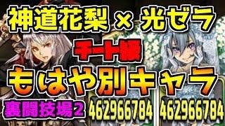 神道花梨が完全に別キャラ 光ゼラと組み合わせたら弱点なし 裏闘技場2【パズドラ】