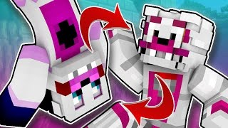 Minecraft fnaf: Sister Location - Who's inside Funtime Freddy And Funtime Foxy (minecraft Roleplay)
