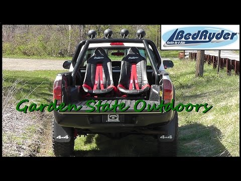 Toyota Tacoma Truck Bed Seat System By Bedryder Youtube