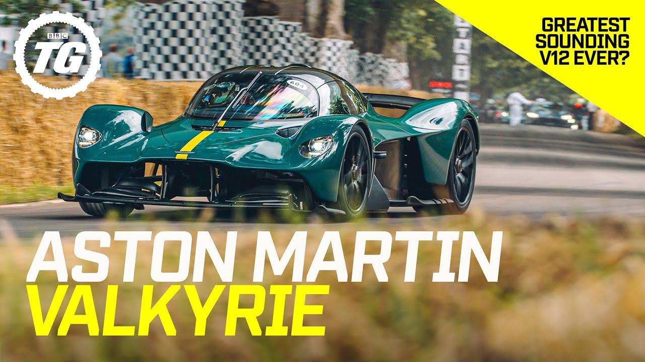 ASTON MARTIN VALKYRIE: Passenger Lap | £2.5m, 1,160bhp, 11,100rpm F1-inspired hypercar | Top Gear