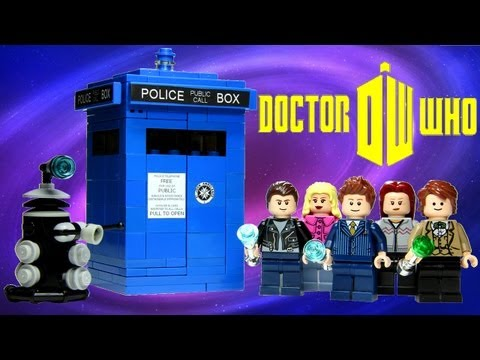 how to make a lego dr who tardis