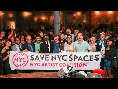 Save NYC Spaces: NYC Artist Coalition Night Mayor Town Hall @ Market Hotel