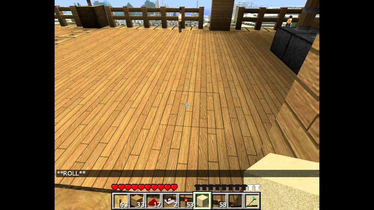 Minecraft 4-Block Tür, versteckte Schaltung (TUT in beschreibung ...