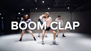 May J Lee teaches choreography to Boom Clap by Charli XCX. Learn fr...
