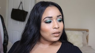 GREEN WITH ENVY!! Colourful Glam Look (Tutorial)