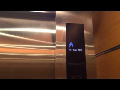 Mitsubishi Elevator at Ocean Financial Centre (Carpark)