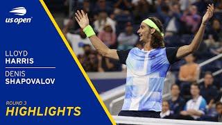Lloyd Harris vs Denis Shapovalov Highlights | 2021 US Open Round 3