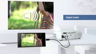 Epson's Projectors Features of Mobile High-Definition Link (MHL) Connectivity