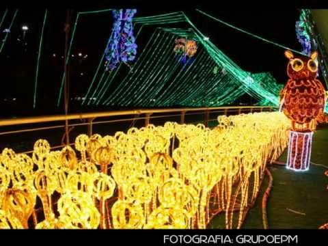Alumbrados Medellin Diciembre 2012