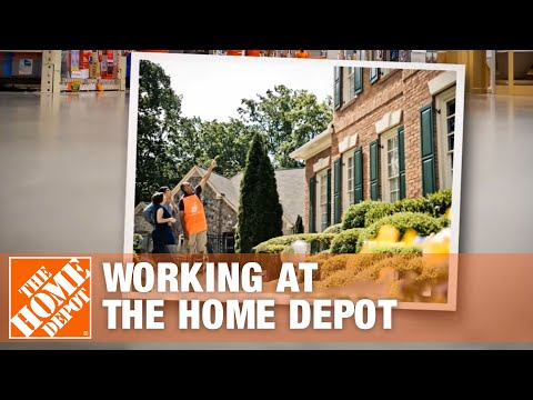 Working at The Home Depot