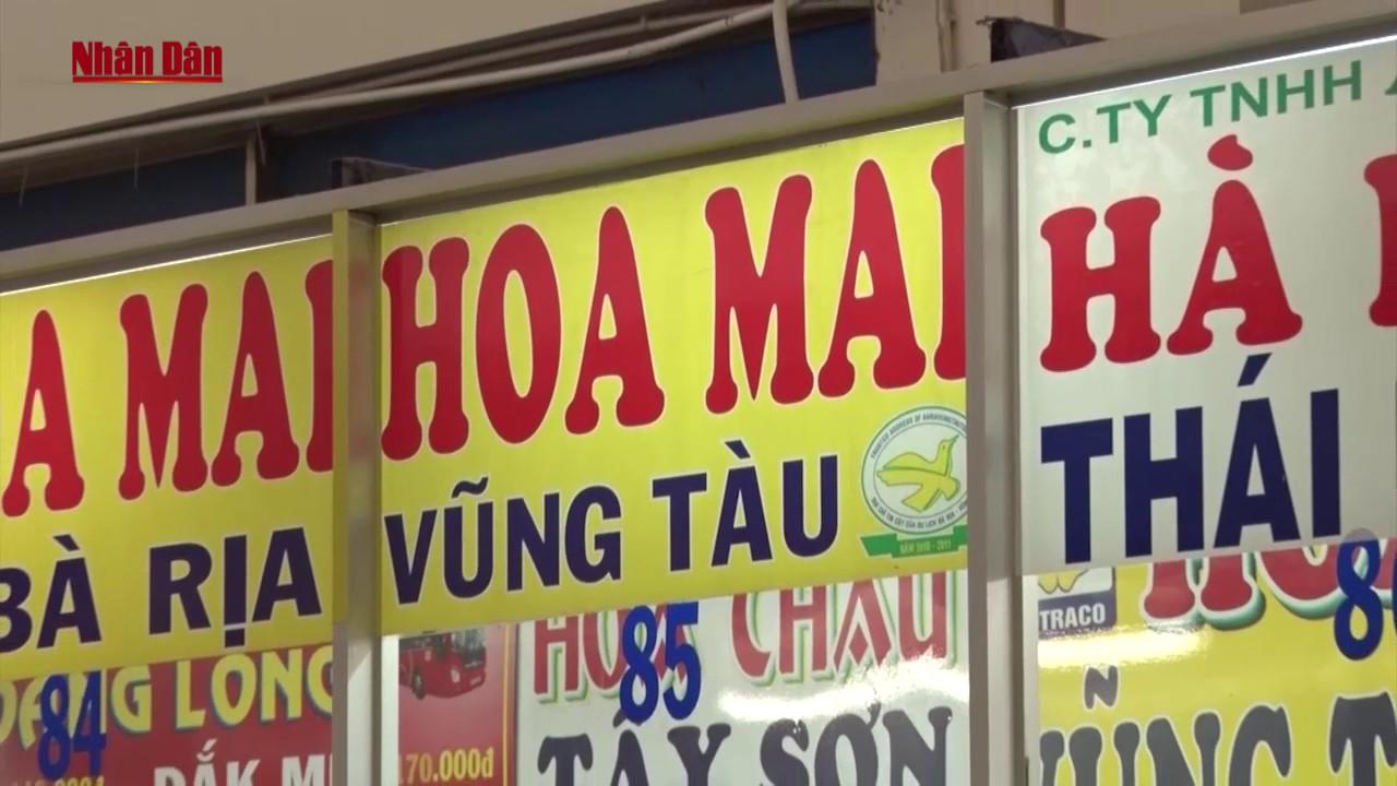 Giá vé xe Tết từ TP. Hồ Chí Minh đi các tỉnh tăng 20% Đến 60%