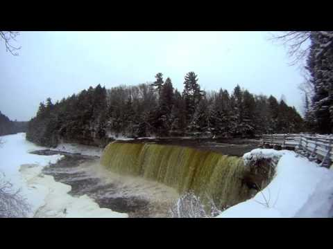 Tahquamenon Falls || Whitefish Point In The Winter