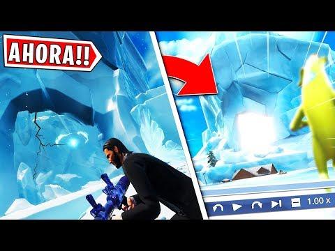AHORA MISMO EVENTO ICEBERG SE ROMPE CADA VEZ MAS, SE ACERCA EL FINAL EN DIRECTO FORTNITE !!