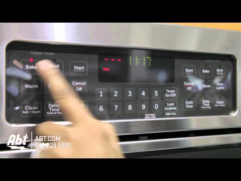 GE Profile 27inch Double Wall Oven JK3500SFSS Overview