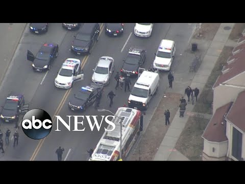 Download Youtube: Baltimore highway shooter caught in high-speed chase
